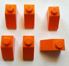 6x LEGO® 61409 Gitter-Dachstein//Schrägstein 18° 2x1x2//3 dunkel-orange NEU
