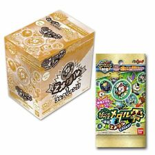 New Yokai Youkai Watch Medal Zero Z Medal 1 box 24 medals Yo-kai Japan Bandai