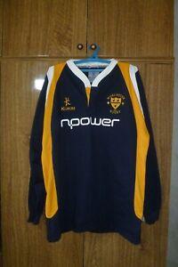 Worcester Warriors Kukri Rugby Shirt Home 2007 Longsleeve Jersey Men Size 2XL 46