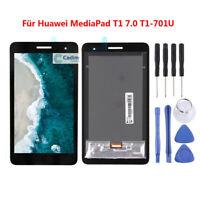 Schwarz Für Huawei MediaPad T1 7.0 T1-701U LCD Display Touchscreen Digitizer ADE