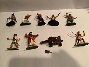 Conte , Pewter Pirates & Cannon