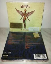 2 CD NIRVANA - IN UTERO - DELUXE EDITION - NUOVO NEW