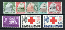 More details for basutoland small range of qeii stockcard mlh