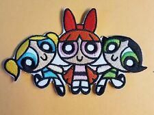 Powerpuff Girls 4 1/4 inch Badge Patch Cosplay Costume