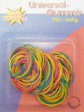 150 Stk Haushaltsgummis Gummiringe Gummi Gummi-Bänder 50-100 mm bunt Küche