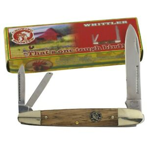 Crowing Rooster Wood Whittler Pocket Knife Frost Cutlery