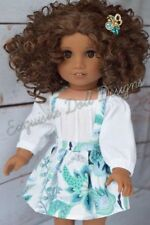 "11"" Custom Doll Wig for 18"" American Girl Dolls Gotz My Life OG Ooak Doll Wigs"