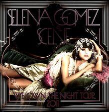 SELENA GOMEZ & SCENE 2011 WE OWN THE NIGHT TOUR PROGRAM BOOK / NEAR MINT 2 MINT