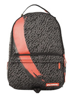 SPRAYGROUND BATTLEKNIT SNEAKER CARGO BACKPACK - Red/Grey- Limited Edition - New