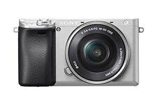 Sony Alpha a6300 Micro 4/3 Digital Camera, Silver (ILCE6300L/S) w/ 16-50 Lens