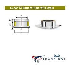 Solinox SLXAYTZ 300mm Bottom Plate Drain Chimney Flue Pipe Double Wall Insulated