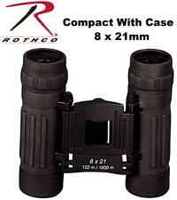 Black Binoculars 8 x 21 mm Compact Binoculars 10280 Rothco