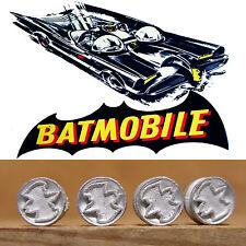 CORGI TOYS BATMOBILE HUBS, WITH BAT LOGO X 8 HUBS
