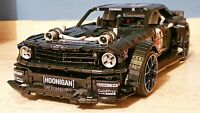 FORD MUSTANG MONSTER HOONIGAN 100%LEGO TECHNIC Compatibile NUOVO