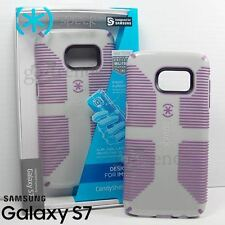SPECK CandyShell Grip Case Cover for SAMSUNG Galaxy S7 Dolphin Grey Lilac Purple