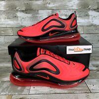 Nike Air Max 720 Bright Crimson/Black AO2924-600 Mens Sizes