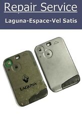 Key Fob Repair Service - Renault Laguna Espace With New Case
