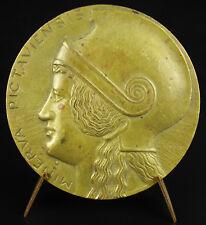 Médaille 1932 demi-millénaire Université Poitiers Minerva Minerve Rivaud medal