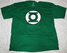 DC COMICS MENS T-SHIRT GREEN LANTERN JUSTICE LEAGUE LOGO SUPERHERO CORP MEDIUM!