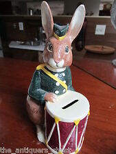 Royal Doulton Drummer Bunny Bank - D.6615 - Circa 1967. Marked [a*8]