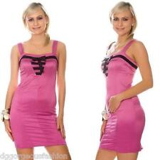 New Sexy Dress Party Evening Cocktail Ladies Women Short Sleeveless 6 8 10 12 14