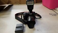 Canon EOS 50D Digital Camera DS126211 SET UP! LENS + SPEEDLITE NICE!!!