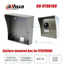 Dahua VTOB108 Metal material Surface Mounted Box for VTO2000A Outdoor Station