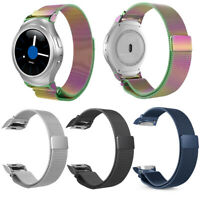For Samsung Gear S2 SM-R720 / R730 Watch Band Magnetic Stainless Steel Strap