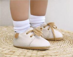 Little Gentleman Infant First Step Shoe Toddler Baby Boy PreWalker Trainers 0-18