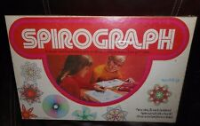 VINTAGE 1973 KENNER SPIROGRAPH 1421 STENCIL GEARS DRAWING KIT ORIGINAL BOX