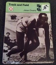 JESSE OWENS 1977 Track And Field Card