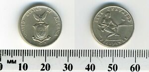 USA Administered Philippines 1945 S - 5 Centavos Copper-Nickel-Zinc Coin