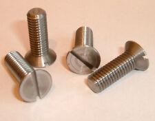"1/4"" BSF x 3/4"" Long Steel Countersunk Screws - Quantity 10 Items"