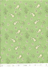 Storybook IV - Green Quilt Fabric - 5/8 Yard Piece