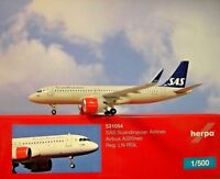 Herpa Wings 1:500 Airbus A320neo  SAS Airlines LN-RGL  531054  Modellairport500
