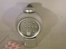 LED Motion Light Activated Sensor Indoor Outdoor Cordless Adjustable Silver   R3