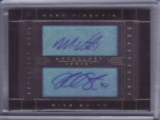 2015-16 Anthology Dual Autograph Mark Visentin/Mike Smith 207/213 Auto -Flat S/H