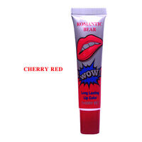 Romantic Bear LONG LASTING WATERPROOF Lip Gloss LIPSTICK Peel Off Mask Tattoo