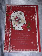 Mum Christmas Card Cute Traditional Female MAM Mother Mammy Mummy Large Choice Design 5
