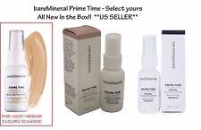 bareMinerals PRIME TIME Foundation Eyelid Primer - CHOOSE YOURS