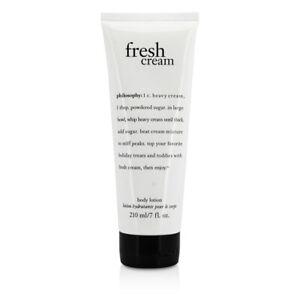 NEW Philosophy Fresh Cream Body Lotion 210ml Perfume