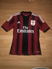 AC Milan Jersey Size Small Blank Adidas