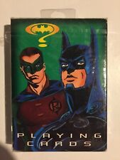 """""""Batman Forever""""~1994~ Playing Cards~52 Card Deck +2 Games~Factory Sealed Mint!"""