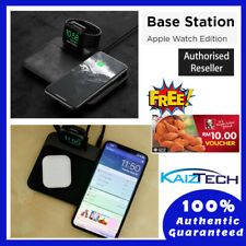 Nomad Wireless Charging Dock Base Station - Apple Watch, iPhone, AirPods