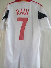 España 2004-2006 Away Raul 7 Camiseta De Fútbol Talla / 38088