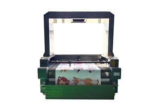 1610 Vision CO2 Laser Cutting Cutter Machine print Fabrics Sportswear CCD Camera