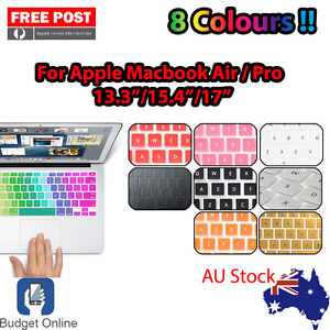 """Soft Keyboard Case Cover Protector for Apple MacBook Pro Air 13.3"""" 15.4"""" 17"""" Mac"""