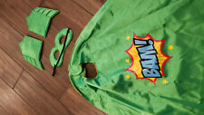 Children's Superhero Cape with Mask and Armbands Halloween