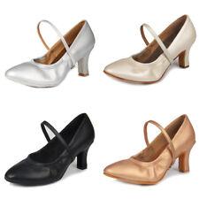 Women's Ballroom Latin Tango Dance Shoes heeled Salsa Modren Dancing Shoes New