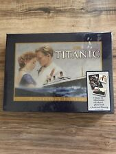 Titanic Collectors Edition VHS Videocassette Book Matted Filmstrip BRAND NEW